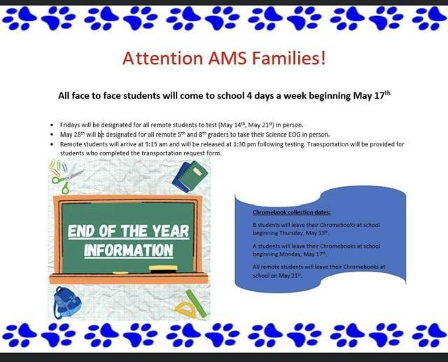 EOG/End of Year Information Featured Photo