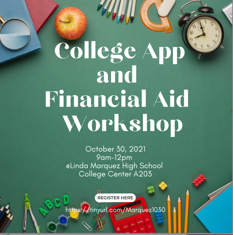 College Application and Financial Aid Workshops Thumbnail Image