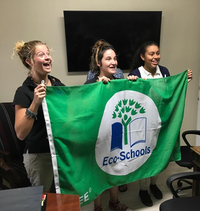 LIS AWARDED ECO SCHOOL and GREEN FLAG November 2018 Featured Photo