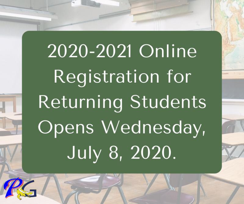 2020-2021 Online Registration