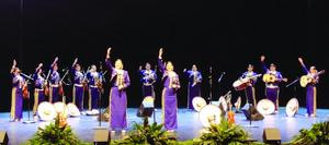 McAllen High Mariachi Oro performs