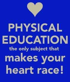 Physical Education Makes Your Heart Race Image