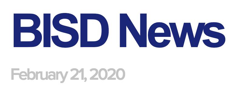 BISD News 2/21/20