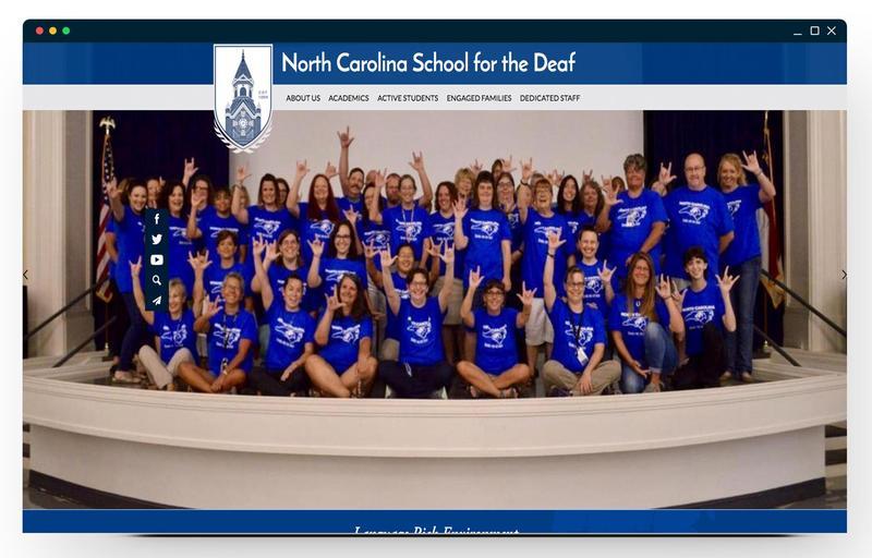 The North Carolina School for the Deaf