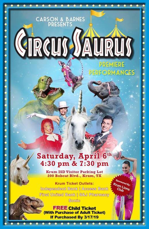 Carson & Barnes Presents Circus Saurus Thumbnail Image