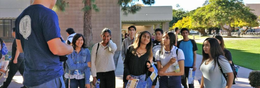 College Club visit's UCSB
