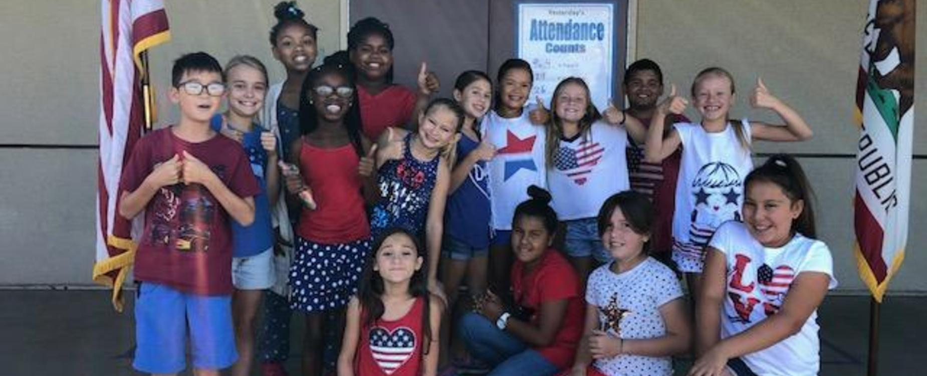 Red, White, & Blue Day