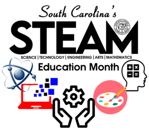 science, computer, hands with gears, art palette, and brain with math symbols