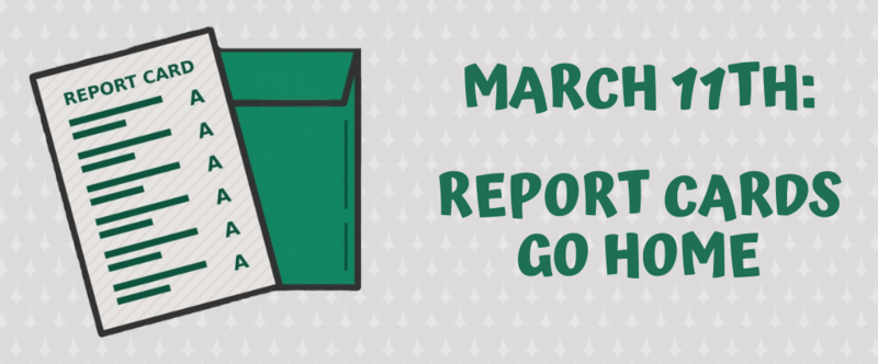 Report Cards March 11