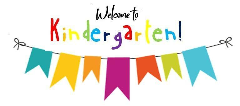 Welcome to Kindergarten banner photo