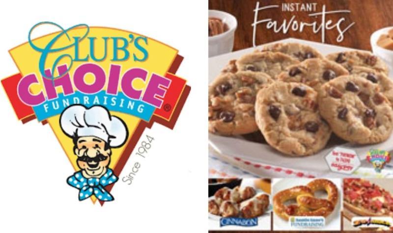 Club's Choice Cookie Dough Fundraiser