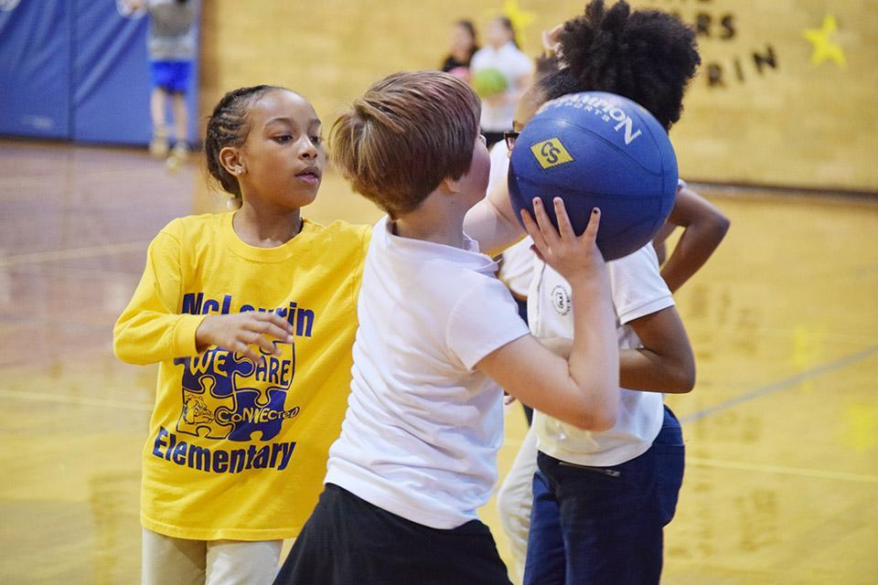 McLaurin Elementary Students Physical Education