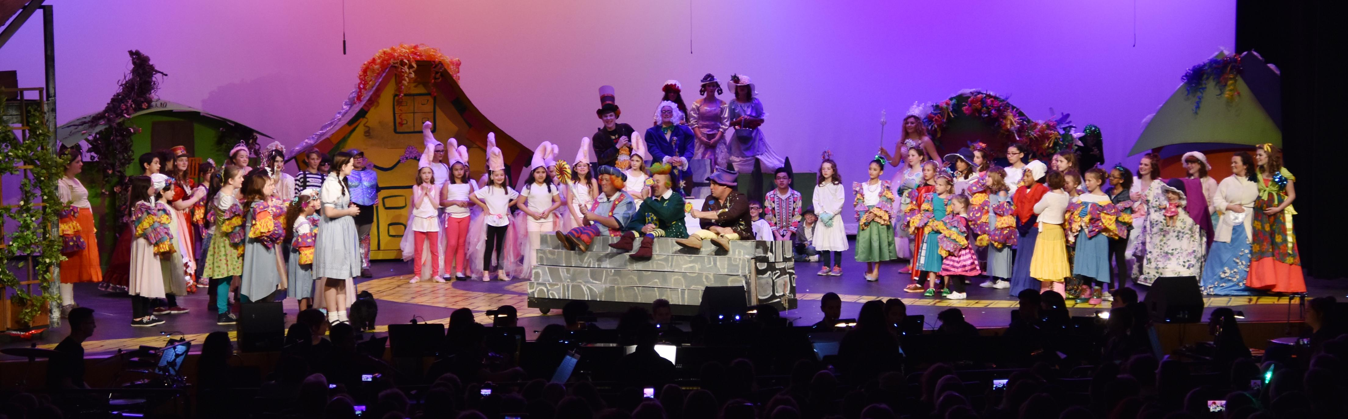 "More than 200 third through 12th grade White Settlement ISD students performed to packed audiences during the district-wide musical, ""The Wizard of Oz,"""