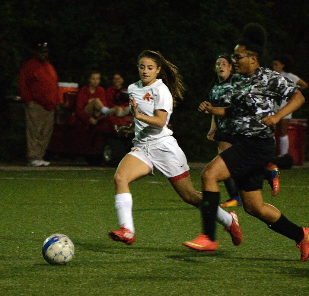 Varsity Girls' Soccer vs Brashear - 091117