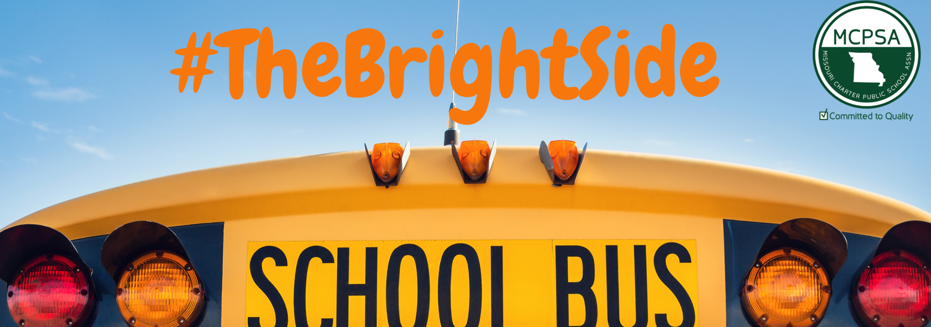 school bus #thebrightside