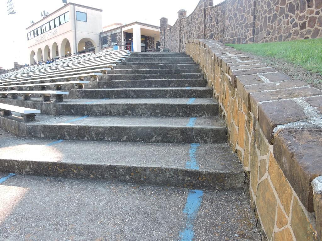 side steps on home side