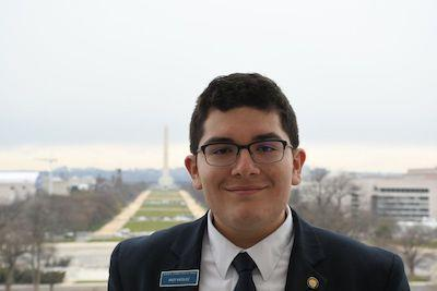 Marian Catholic student experienced history firsthand as Senate page during first Trump impeachment Featured Photo