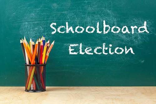 School Board Election Graphic