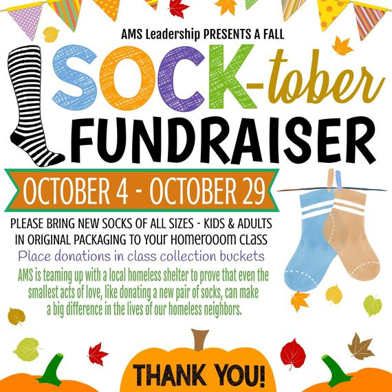 Sock-tober Fundraiser