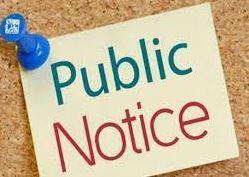Public Notice Featured Photo