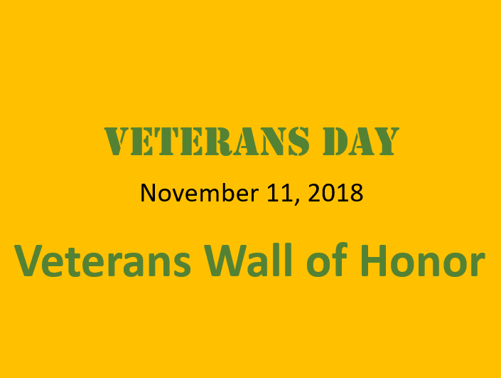 veterans wall of fame