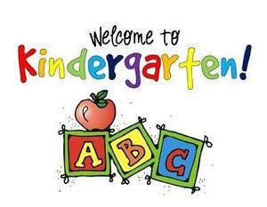 Welcome to kindergarten- registration photo