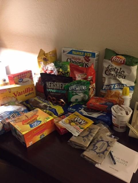 Room Snacks