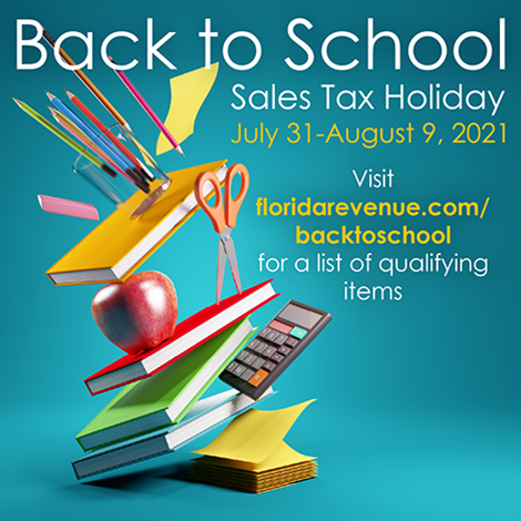Back to School Sales Tax Holiday 7/31-8/9 Featured Photo