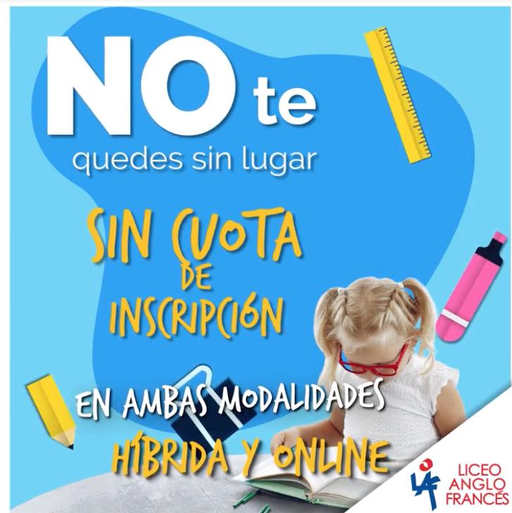 NO TE QUEDES SIN LUGAR. SIN CUOTA DE INSCRIPCIÓN Featured Photo