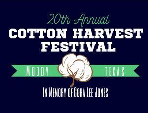 cotton harvest festival logo