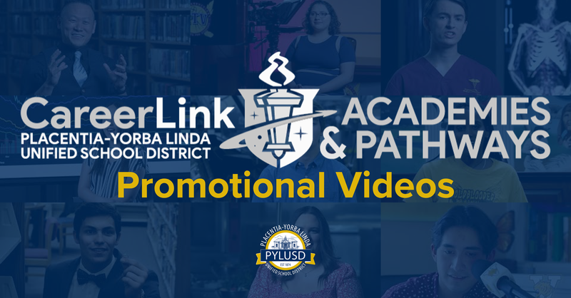 Promotional videos graphic.