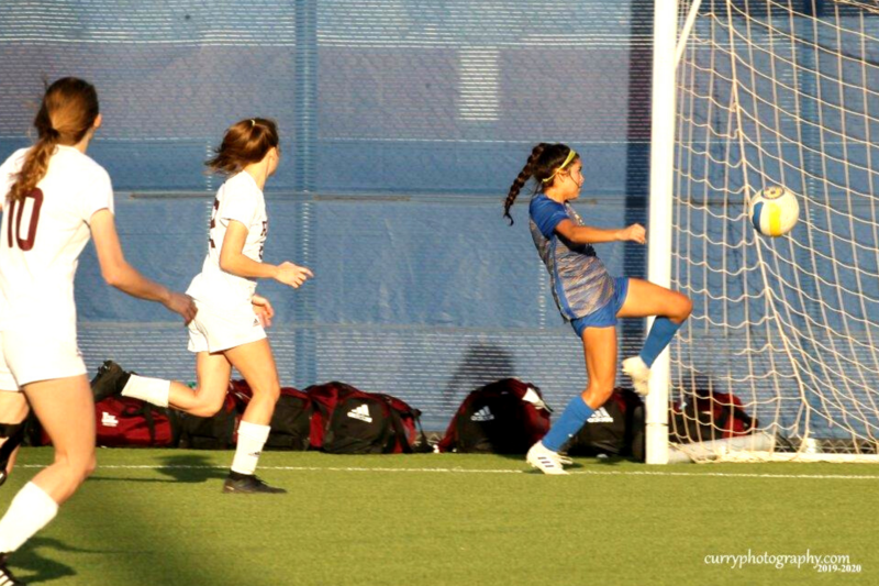 girls soccer game photo