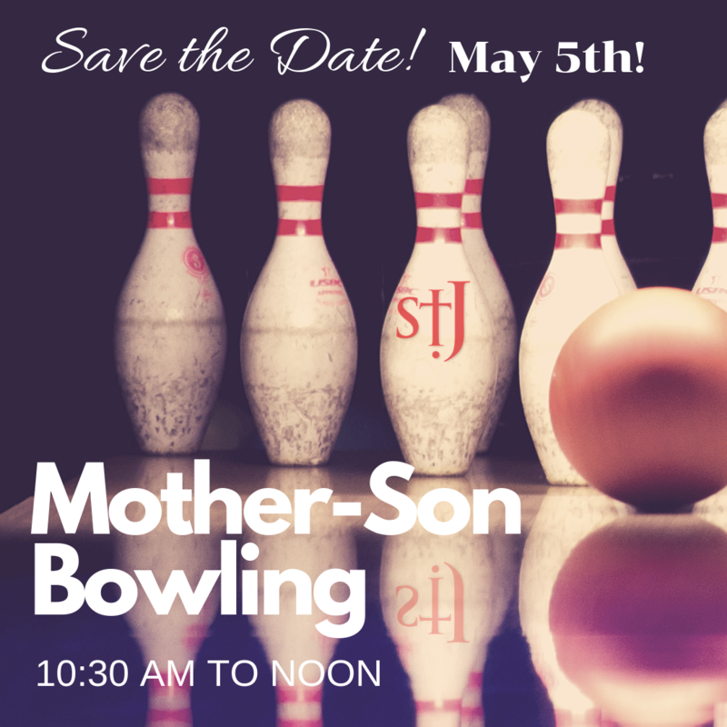 Save the Date! Mother-Son Bowling Featured Photo