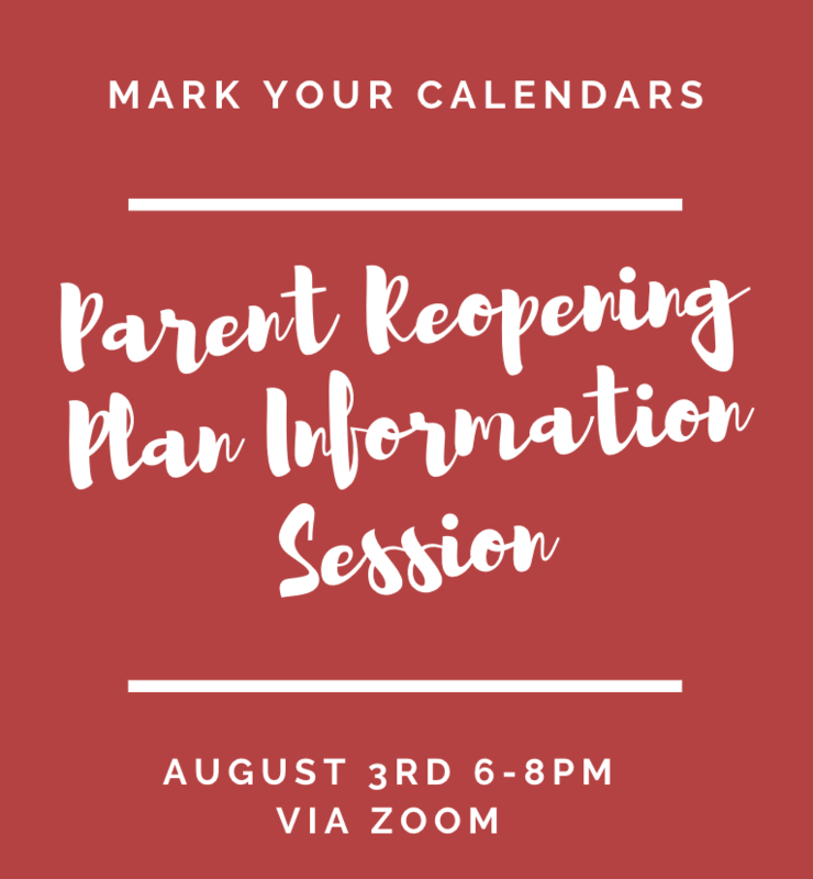 Parent Reopening Plan Information Session Aug. 3 Featured Photo