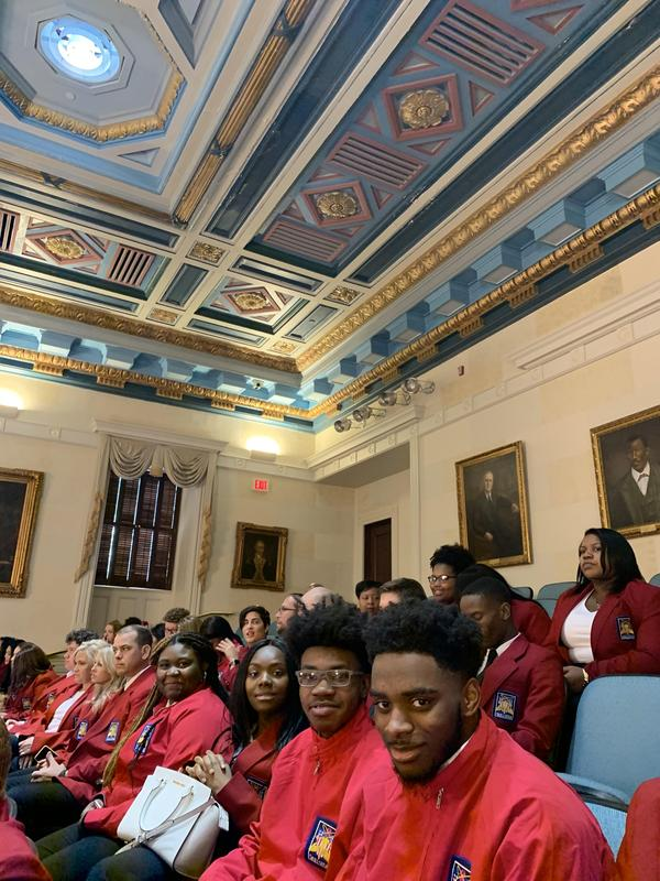 State House visit LCCTC