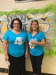 Mrs. Sneed and Mrs. Younts