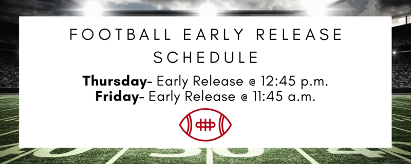 early release schedule image