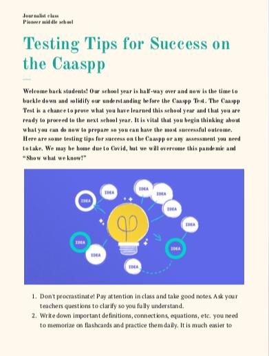 CaasppTips