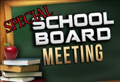 Special Board Meeting August 16th! Featured Photo