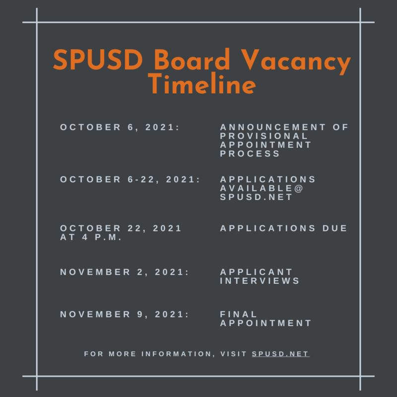 SPUSD Accepting Applications for Board of Education Featured Photo