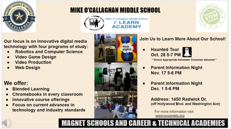 Is your 5th grader interested in going to a Magnet Middle School? Featured Photo