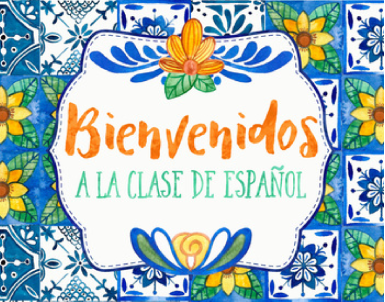 Bienvenidos a mi clase de español! – Ms. Genesis Rivera – Rivera ...