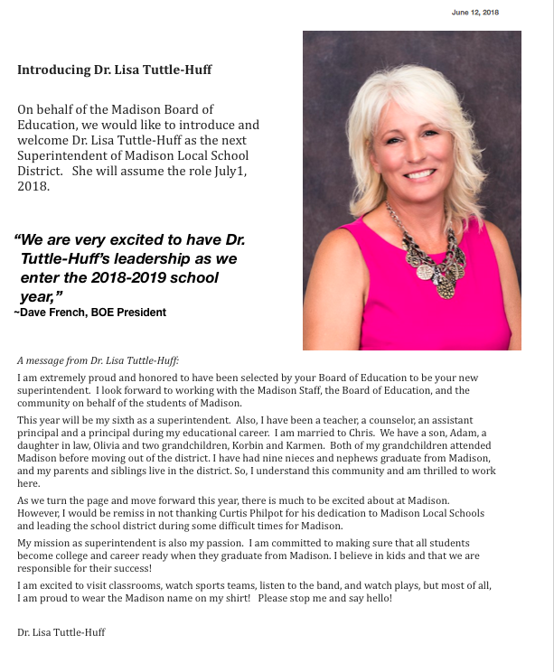Introducing Dr. Lisa Tuttle-Huff