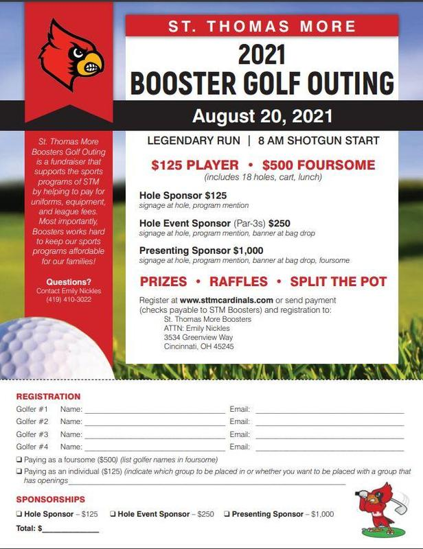 STM Booster Golf Outing Featured Photo