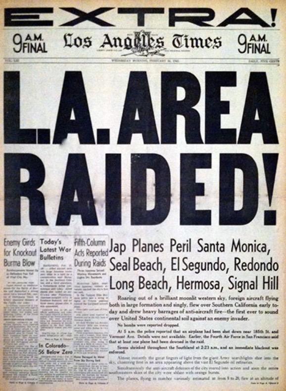 Los Angeles Area Raided