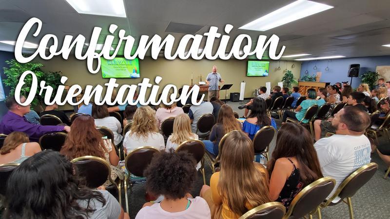 Confirmation Parent/Student Orientation Featured Photo