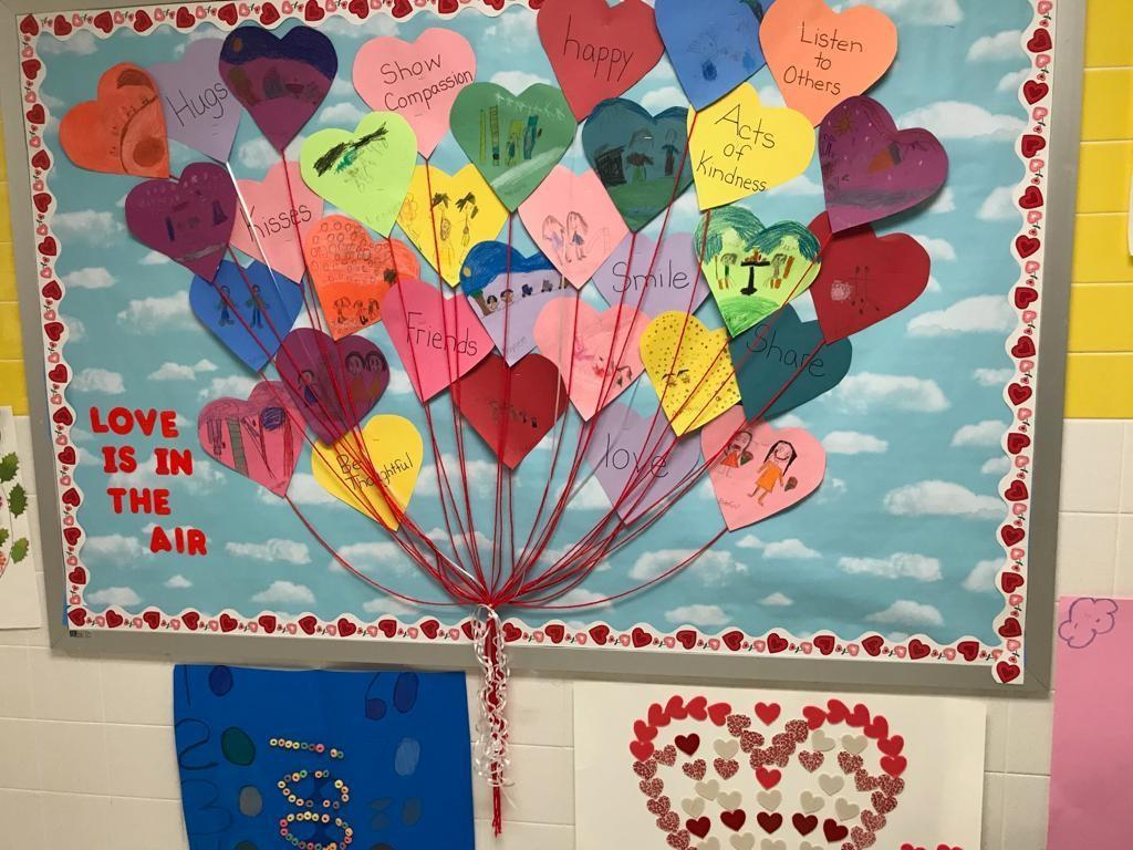 love is in the air heart activity display