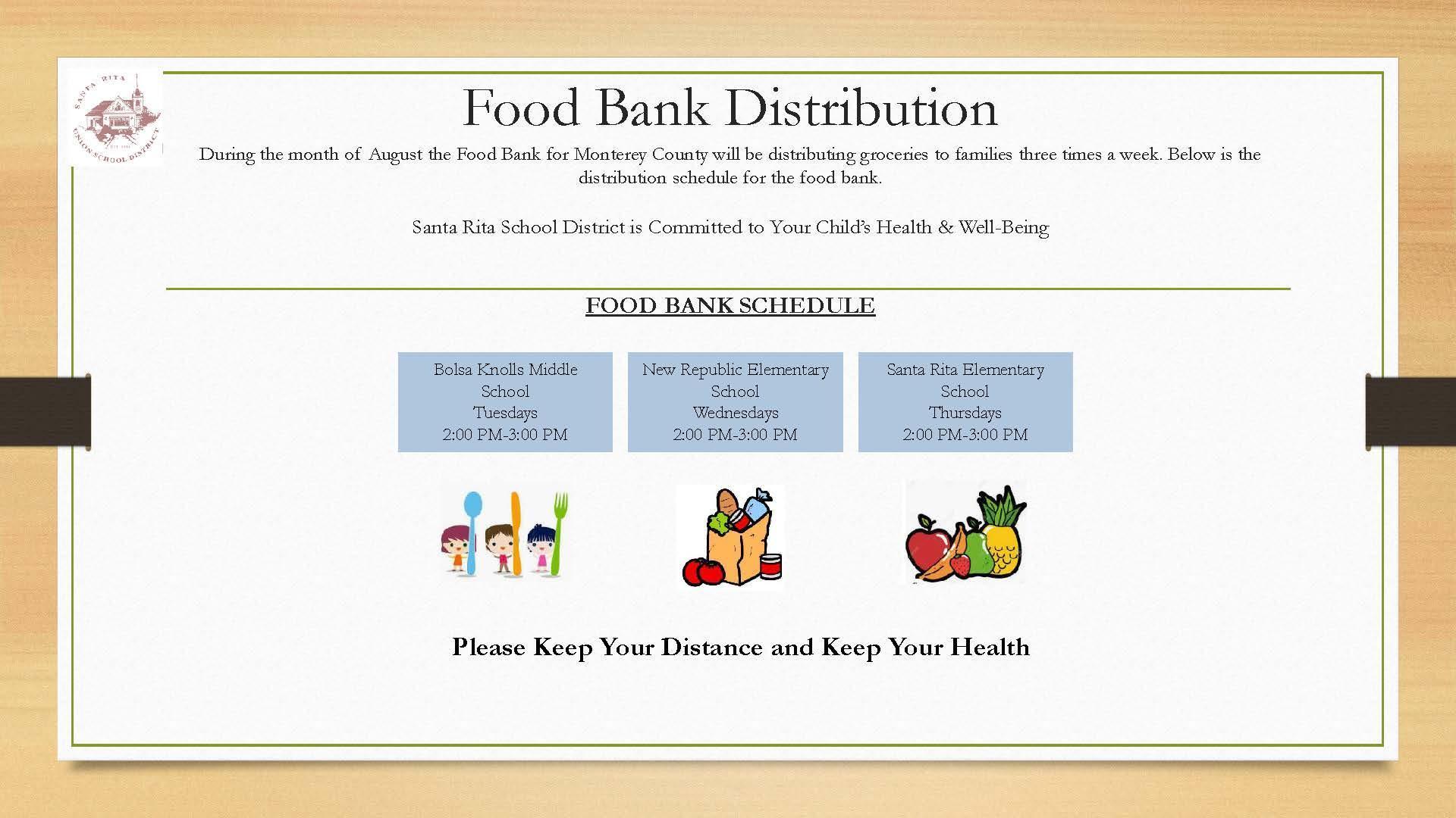 Food Bank Information
