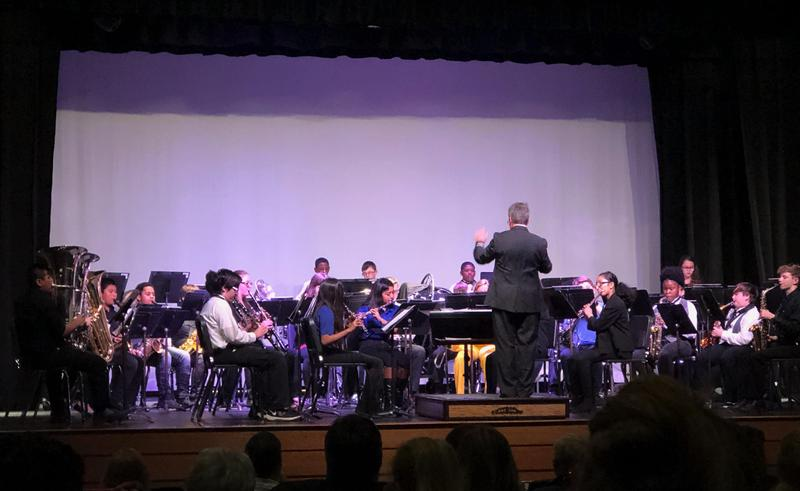 District Honor Band performance