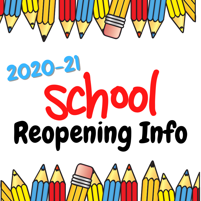 School Reopening 2020-21 Featured Photo